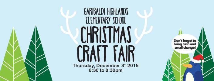 GHE Christmas Craft Fair 2015